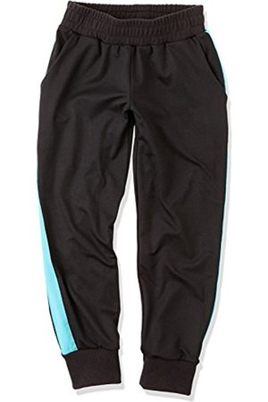 Girl's Contrast Piping Sports Pants