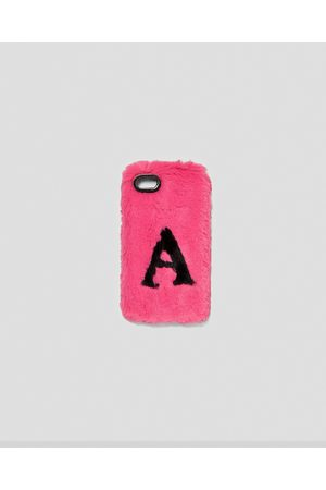 Zara FAUX FUR MOBILE PHONE COVER - Available in more colours