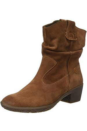 El Naturalista Ng17 Lux Suede Alhambra, Women's Ankle Boots