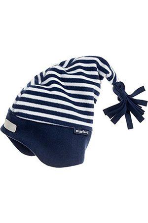 Playshoes Baby Boys' Warme Kinder Fleece-Zipfelmütze Maritim Hat