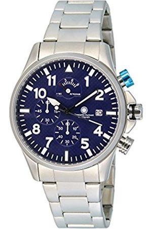Constantin Durmont Gents Watch Chronograph Quartz Stainless Steel XL Spade CD Spad-Qzrt-STSTSTBL