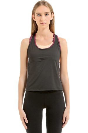 EA7 EMPORIO ARMANI VENTUS TANK WITH BUILT-IN BRA