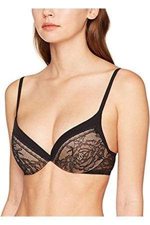 Calvin Klein Women's Plunge (Kissing Front) Push-up Bra