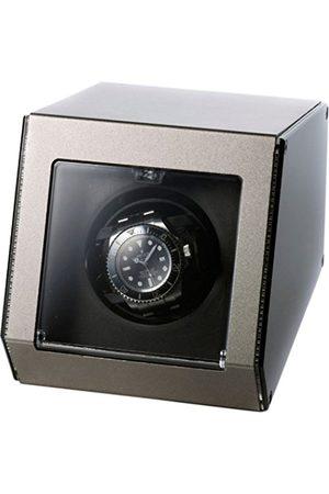 "Raoul U Brown Watch Winder Ferrum for 1 ""Style Clock Watchwinder Aluminium Casing"