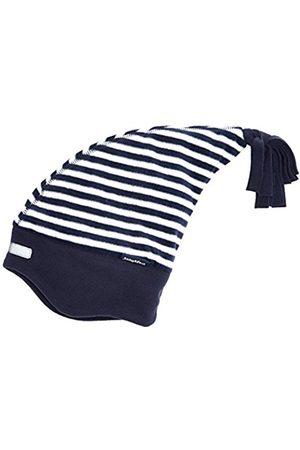 Playshoes Boy's Warme Kinder Fleece-Zipfelmütze Maritim Hat