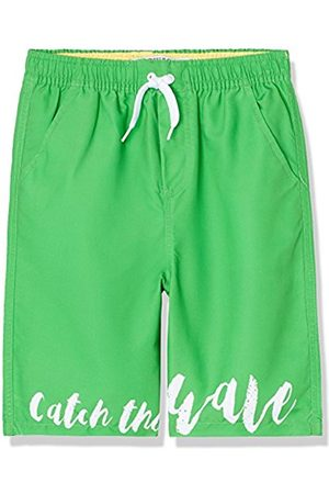 Boy's Catch The Wave Border Swim Shorts