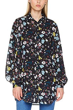 Yumi Women's Nouveau Floral Sheer Blouse