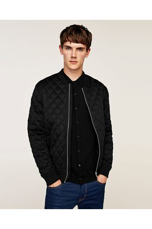 Zara QUILTED BOMBER JACKET - Available in more colours