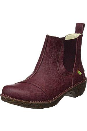 El Naturalista Women's N158 Soft Grain Rioja/Yggdrasil Ankle Boots