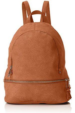 SwankySwans Swanky Swans Womens Madrid Zipper Backpack Bag Backpack Handbag (Tan )