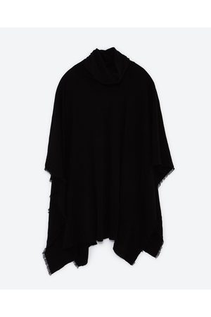 Zara ROLL NECK PONCHO