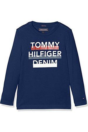 Tommy Hilfiger Boy's Ame 3 Col Logo CN Tee L/S T-Shirt