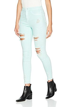 New Look Women's Vanessa Disco Colour Ripped Skinny Jeans