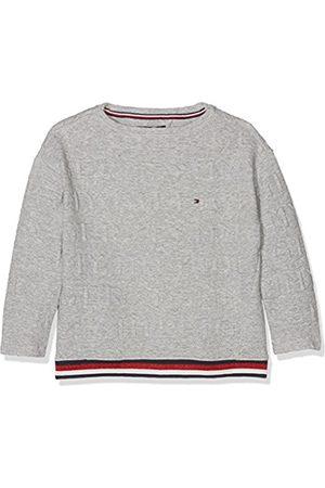 Tommy Hilfiger Girl's 3D Logo Bn Hwk L/S Sweatshirt