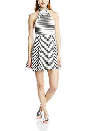"""Minkpink Women's """"Find Me Guilty"""" Peplum Striped Sleeveless Dress"""