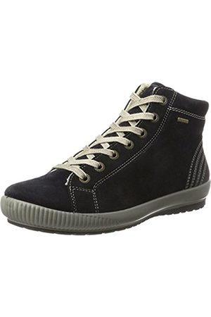 Legero Women's Tanaro Hi-Top Slippers blue Size: 5 UK