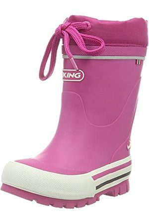 Viking Unisex Kids' Jolly Winter Ankle Boots, (Fuchsia 17)
