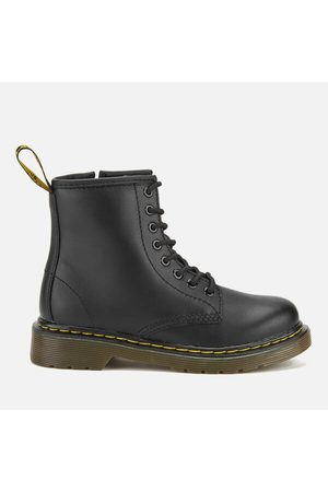 Boots - Dr. Martens Kids' Delaney Leather Lace Boots