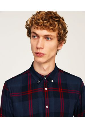 Zara FLANNEL SHIRT - Available in more colours