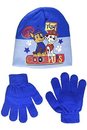 Nickelodeon Boy's Paw Patrol Super Yeah Scarf, Hat and Glove Set