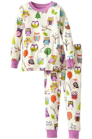 Hatley Little Blue House by Girl's Party Owls Pyjama Set
