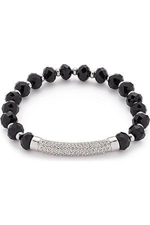 LEONARDO JEWELS Women Stainless Steel Glass Stretch Bracelet