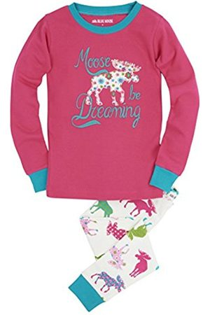 Hatley Little Blue House by Girl's Long Sleeve Printed Pyjama Sets
