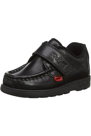Kickers Boys' Fragma15 Strap Lthr Im Loafers