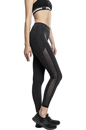Urban classics S Women's Ladies Tech Mesh Stripe Leggings