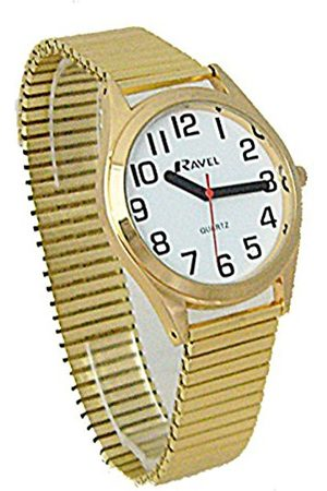 Ravel Unisex-Adult Analogue Classic Quartz Watch with Stainless Steel Strap R0225.02.1