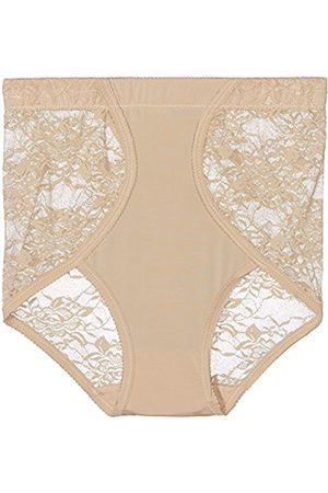 Women's Lace Panel Briefs Control Knickers
