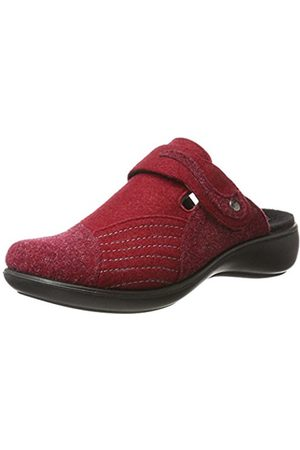 Romika Women's Ibiza Home 306 Open Back Slippers red Size: 7.5 UK