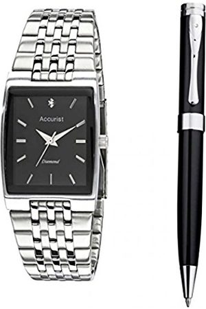 Accurist Men's Quartz Watch with Dial Analogue Display and Stainless Steel Bracelet MB1121.01
