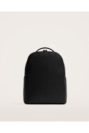 Zara STUDDED-EFFECT BACKPACK
