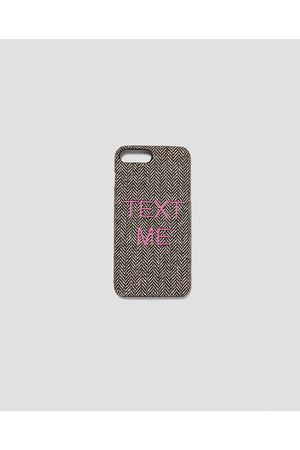 Zara MOBILE PHONE CASE WITH SLOGAN