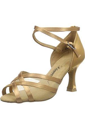 Diamant Women's Damen Latein Tanzschuhe 035-087-087 Ballroom Dance Shoes brown Size: 10 UK