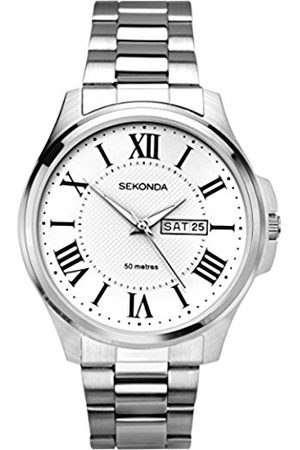 Sekonda Unisex-Adult Analogue Classic Quartz Watch with Stainless Steel Strap 1438.27