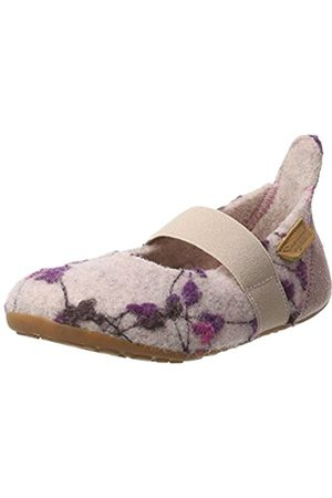 Bisgaard Girls' Wool Ballet Slippers