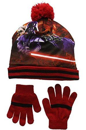 STAR WARS Boy's Darth Vader Hat and Glove Set