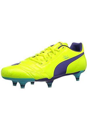 Puma Evopower 4 Fg, Men's Football Shoes, Fluo /Prism Violet/Scuba 2