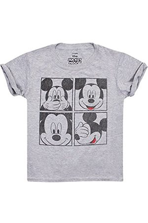 Disney Boy's Mickey Grid T-Shirt
