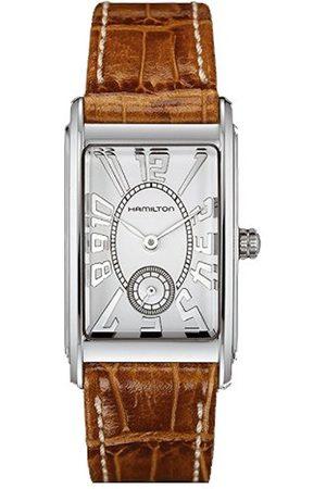 Hamilton Analogue Quartz Watch with Leather Strap H11211553