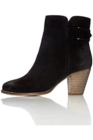 Women's Maud Distressed Heeled Ankle Boots