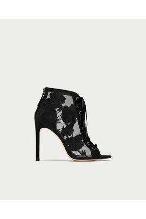 0413d71d5d7 Zara embroidered-gg women s shoes