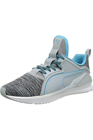 Puma Women's Fierce Lace Knit Wn's Fitness Shoes, (Quarry - Atoll 03)