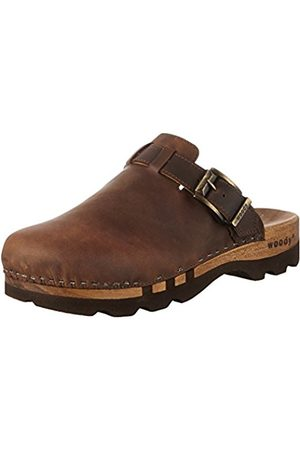 Woody LUKAS Clogs And Mules Mens Brown Braun (Crazy Horse testa di moro) Size: 10 (44 EU)