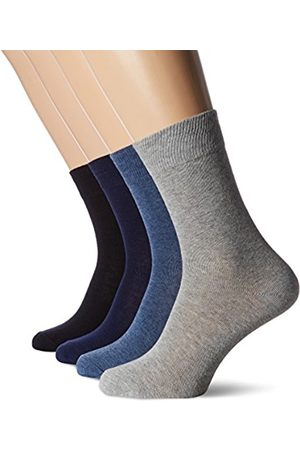 s.Oliver Men's Unisex Classic 4p Calf Socks