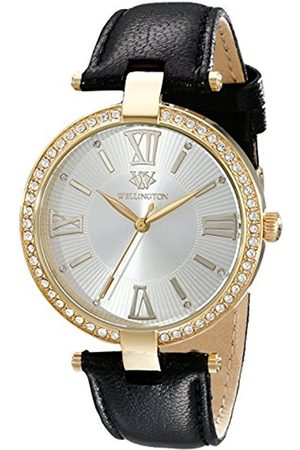 Daniel Wellington Ladies Quartz Watch with Dial Analogue Display and Leather Strap WN502-212