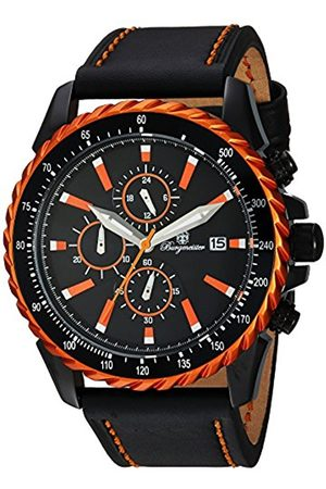 Burgmeister Men's Quartz Watch with Dial Analogue Display and Leather Bracelet BMT02-652