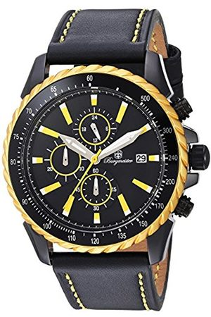 Burgmeister Men's Quartz Watch with Dial Analogue Display and Leather Bracelet BMT02-692G